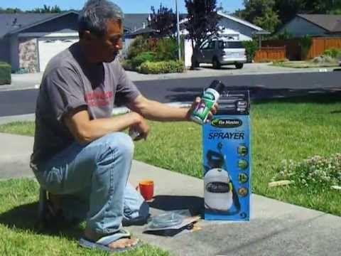 how to hack a garden sprayer to make a pressurized solar shower portable