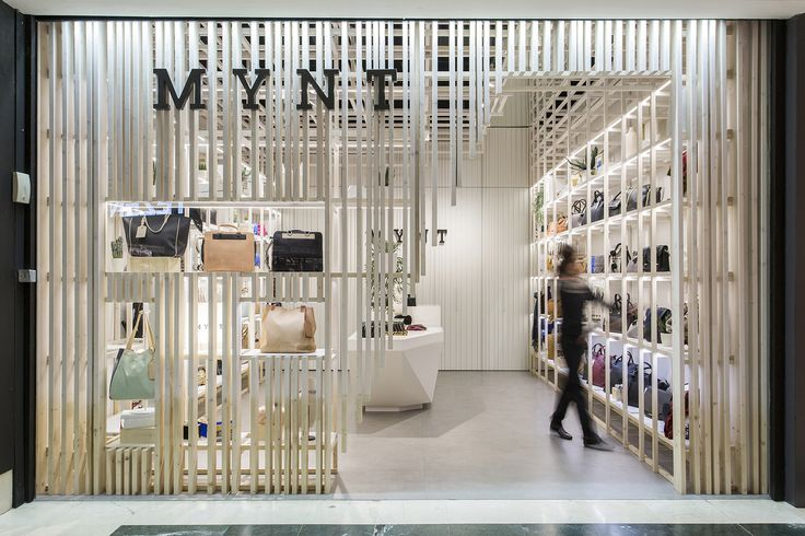 Built by Dear Design in Barcelona, Spain with date 2015. Images by Xavi Torrent. Dear Design studio, design office based in Barcelona, Spain has completed the design of Mynt flagship store, a fashio...