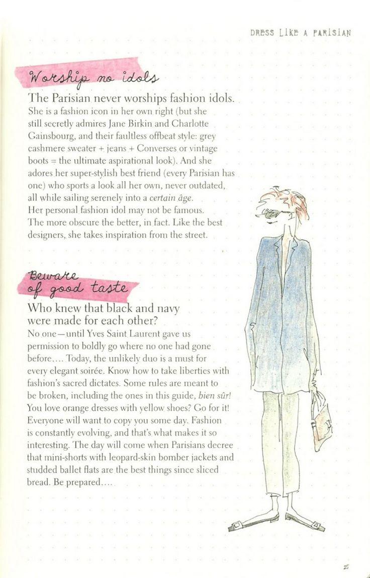 Parisian Chic: A Style Guide by Inès de la Fressange | Dress Like a Parisian