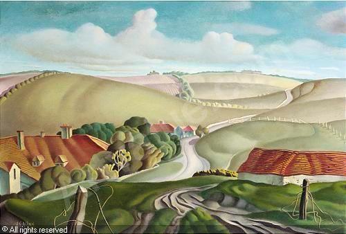 ALLEN Harry Epworth, 1894-1958 (United Kingdom) Title : Crowlink, Susse