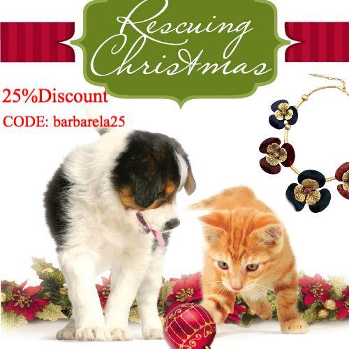 25% Discount Code: barbarela25 http://www.barbarelajewelry.com/