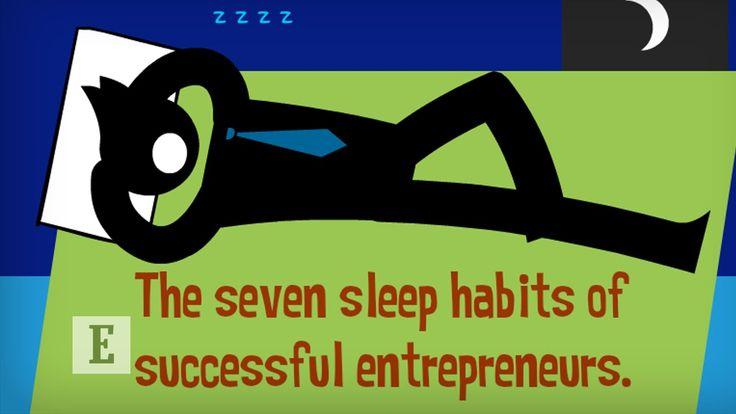 The 7 Sleep Habits of Successful Entrepreneurs