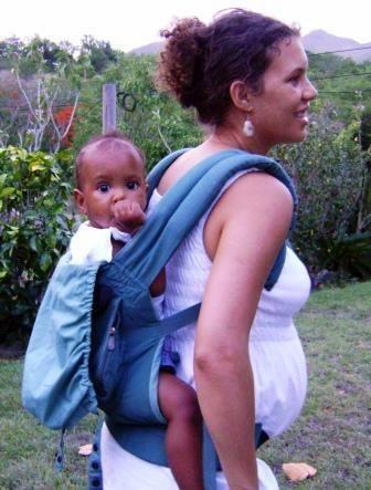 Babywearing in timpul sarcinii