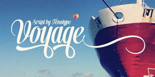 Font of the day: Voyage  http://www.creativebloq.com/typography/font-day-voyage-7133687