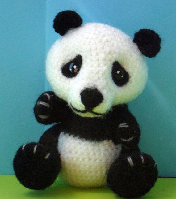 Amigurumi Little Bigfoot Panda : 178 best images about ????? on Pinterest Free pattern ...