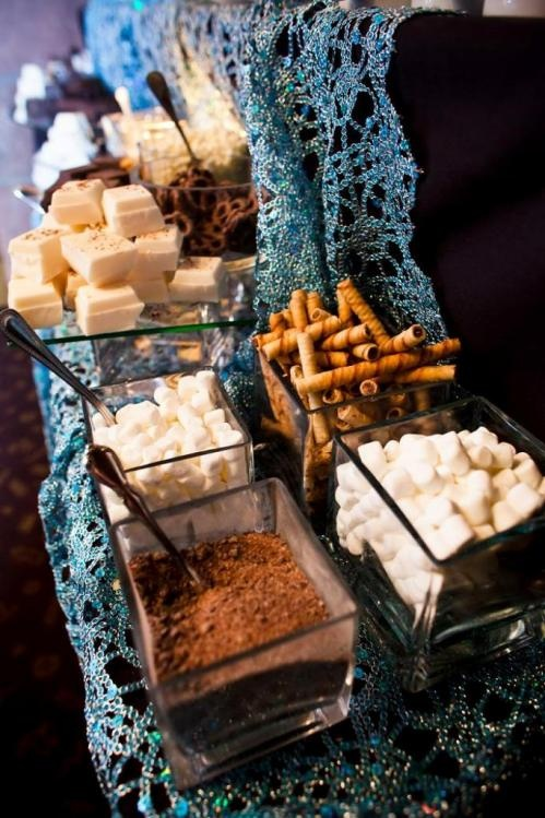 Apres Ski Party - hot chocolate bar #birthdaypartyplanning