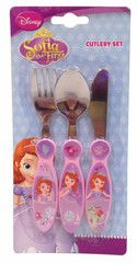 SOFIA THE FIRST ~ Cutlery Set