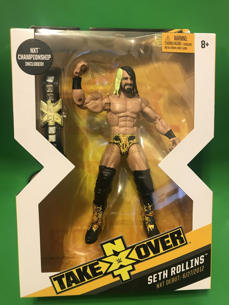 WWE ELITE Target NXT Takeover Exclusive W/ BAF Seth Rollins