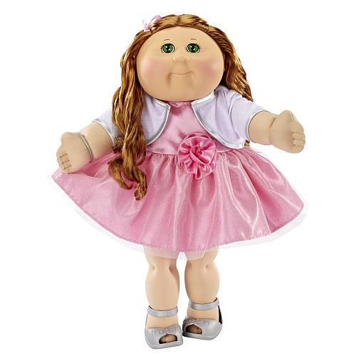 FAO Exclusive Cabbage Patch Doll 30th Anniversary 20 inch Collector Kid - Girl, Red Hair, Green Eyes