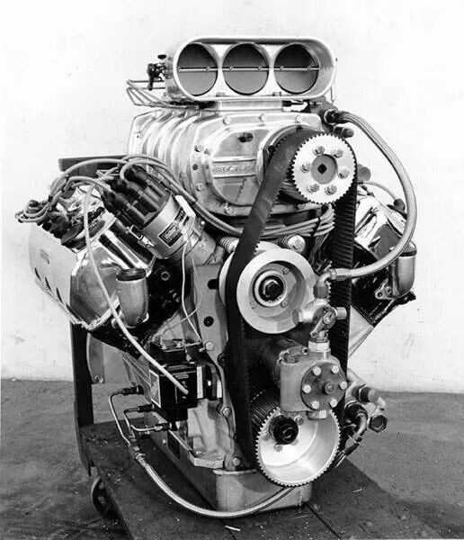 .A blown hemi. There is no substitute for cubic inches..