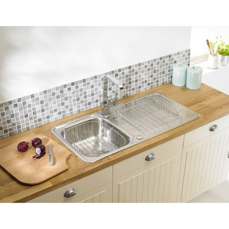 22 best Kitchen Sinks images on Pinterest | Bowls, Kitchen faucets ...