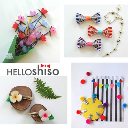 hello shiso hair accesories for kids