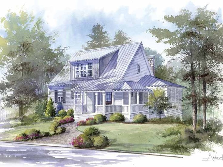 From Southern Living · Country House Plan With 1826 Square Feet And 3  Bedrooms From Dream Home Source | House