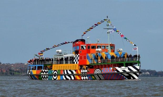 Peter Blake - Dazzle Ship 26/8/15