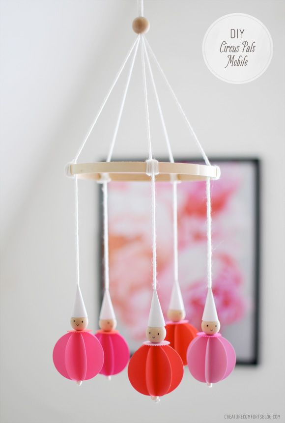 DIY Circus Pals Mobile / Room Decor | Creature Comforts Blog