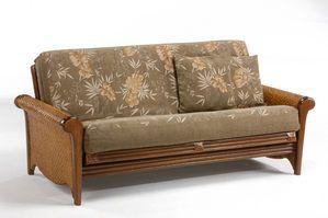 Rosebud Rattan Futon Frame by Night&Day Furniture