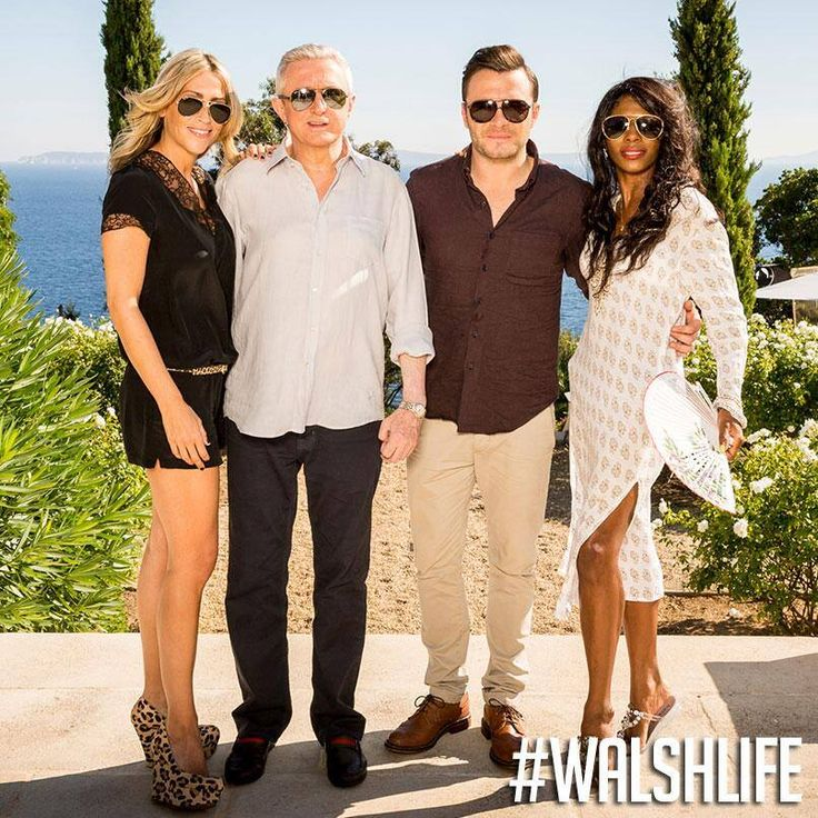 """... """"@Lisa Campanelli-Rose Would Louis, @Lizzie Robson, @Nicole_Appleton & @SinittaOfficial make a great band? Called """"Walshlife""""? #XFactor — with Charlie Hewson."""" ... Shane Filan Solo Page on Facebook! :-) xxx"""