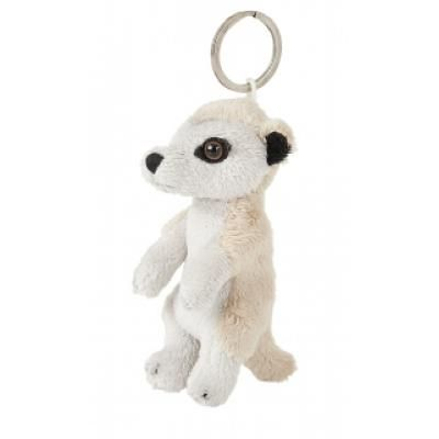 Image of Promotional Meerkat Key Ring. Soft 10 cm Animal Keyring.