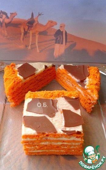 "Торт ""Сахара"" - кулинарный рецепт"
