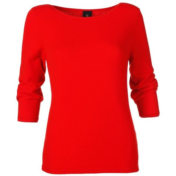 Cashmere jumper ❤ liked on Polyvore featuring tops, sweaters, jumpers sweaters, cashmere jumpers, wool cashmere sweater, cashmere knitwear and red top
