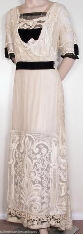 1900-1919 Edwardian dress via The Barrington House Educational Center, L.L.C.