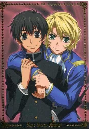 Kyo Kara Maoh! Did anyone else have a slight hope for romance between these two?