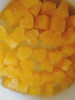 Narancsos gumicukor házilag