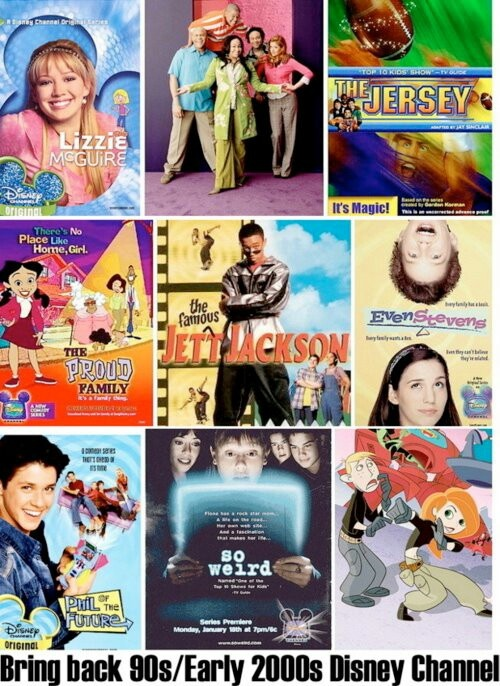 List of old Disney Channel Series