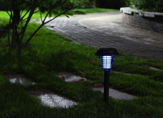 TurboTech Solar Powered Mosquito Zapper