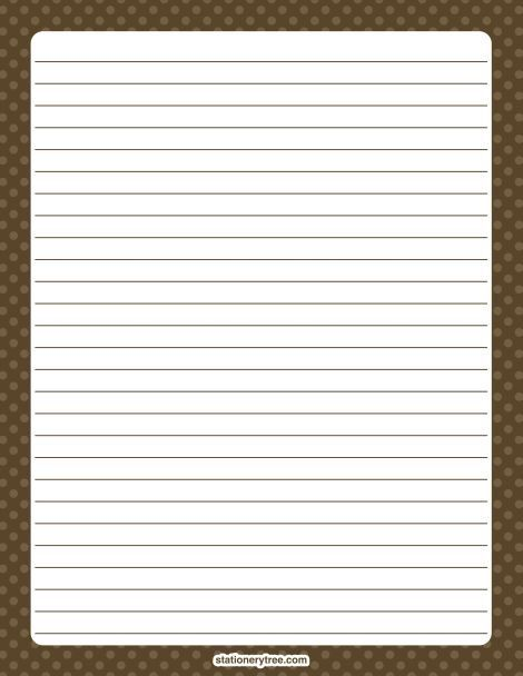 67 best Pen Pals images on Pinterest Writing paper, Frames and - elementary lined paper template