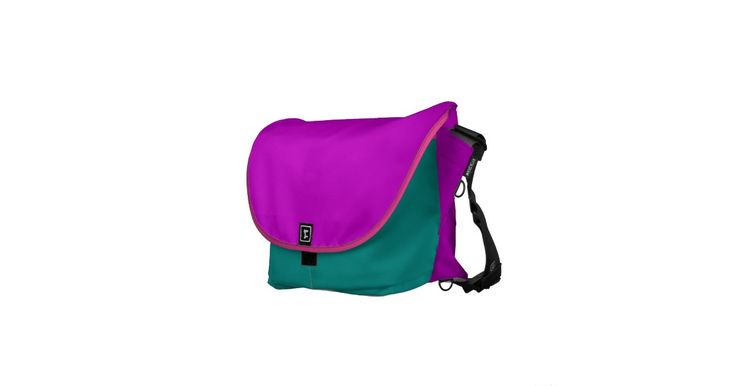 Green, Purple and Pink Rickshaw Bags Pick your size!