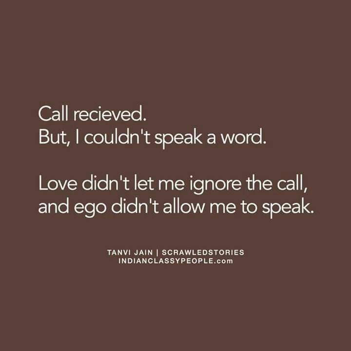 Aaa... you're the 'silent caller' aren't you..? ❤
