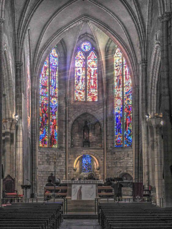 Cathédrale Saint-Spire de Corbeil-Essonnes - Cœur et transept