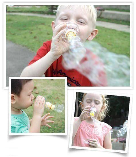 Суперпузыри - интересное развлечение для детей за считанные минуты