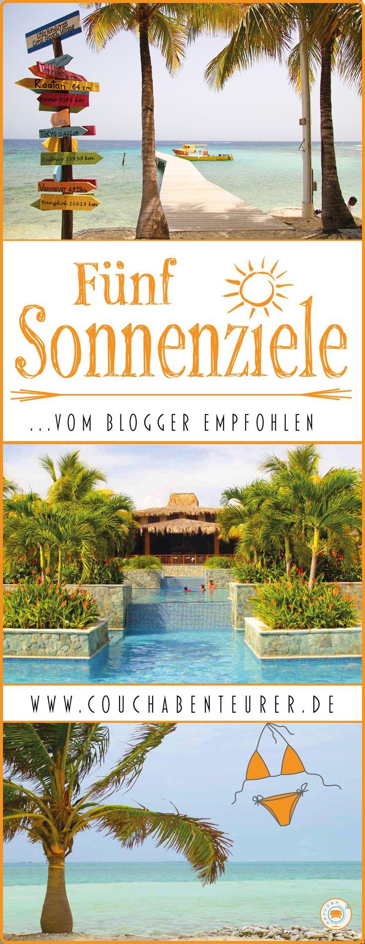 Sonnenziele – Wer sehnt sich nicht nach ihnen, wenn in Deutschland das schöne Wetter auf sich warten läßt? Wer hat nicht Lust auf Traumstrände statt Schwimmbad und Meerbrise statt Durchzug in der Wohnung?