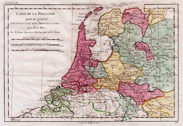 Nederland 1780 Zeven Provinciën