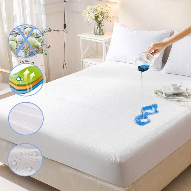 Protection With Waterproof Mattress Pads 13 On Sale Near Me Ideas Mattress Waterproof Mattress Waterproof Mattress Pad