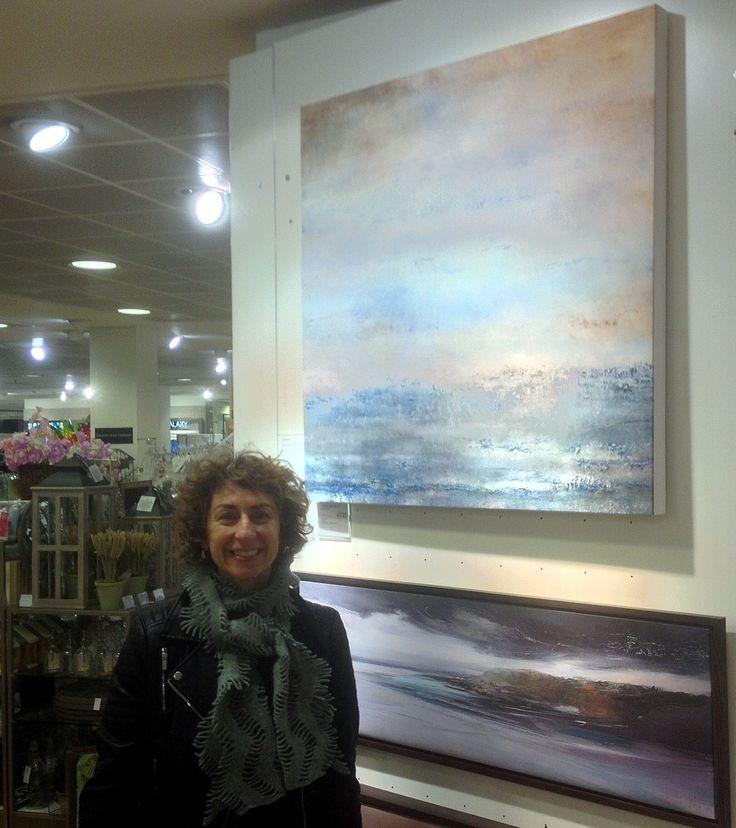 Canvas Art print of GUIDING LIGHT by Liz Jameson for sale at Peter Jones, Sloane Square, London. £125