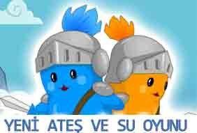 2 Kişilik Oynayabileceğiniz Yeni Ateş ve Su Oyunu ile Arkadaşınızla Beraber Bölümleri Geçerek Ateş Çocuk ve Su Kız Olarak Eğlenceli Vakit Geçirin ;)  W, A, S, D ve Yön Tuşları ile Oynayın!  İki Kişilik Online Oyunların Adresi:woyunlar.com/iki-kisilik-oyunlar  2 Kişi ile eğlenceli vakit geçirebileceğ