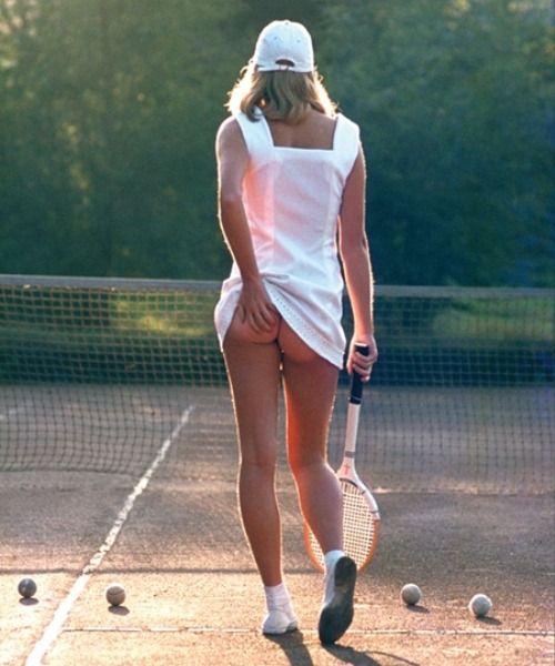 Tennis Girl Shot