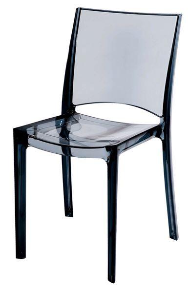 Plastová židle B-SIDE antracit