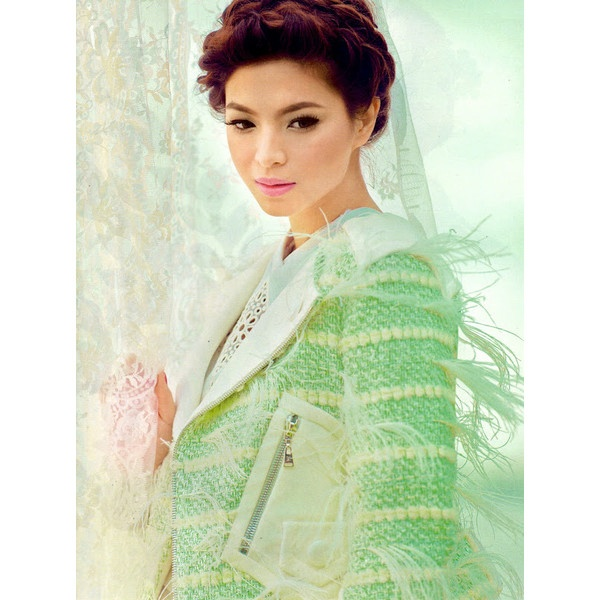 Angel Locsin in Editorial for Preview Magazine (March 2012) wearing... via Polyvore