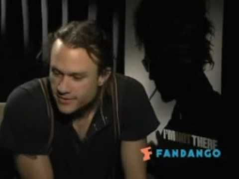 (4:45) Heath Ledger interviewed about the Dark Knight