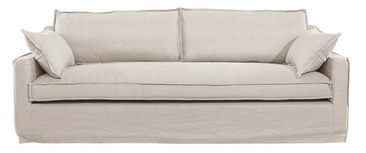 Milford 3 Seater Sofa - Linen Sand Material: Linen, Pine & Oak Colour: Sand Size: 235cm x 95cm x 80cm Seat Height 47cm Continue reading →