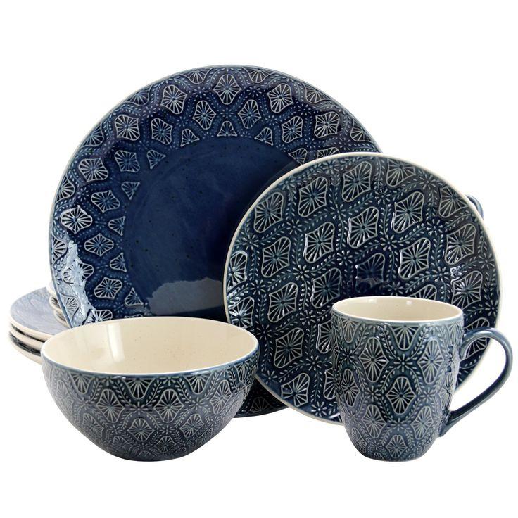 Elama kali 16piece dinnerware set in 2020