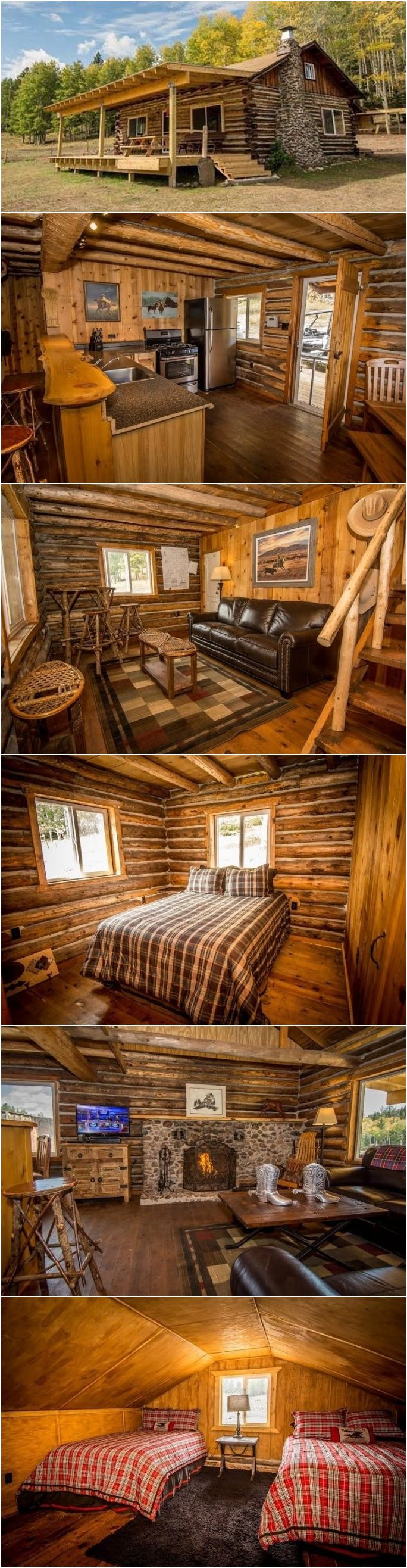 Rustic Country Cabin Dream Come True