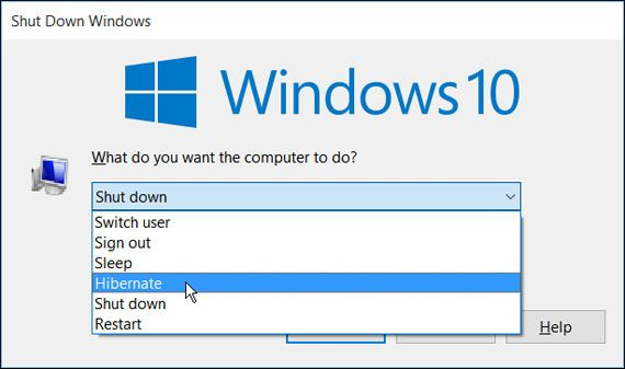 How to #Enable or #Disable #Hibernate in #Windows10