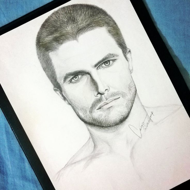 Stephen Amell Drawing