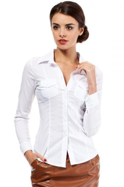 Urocza koszula w odcieniach bieli