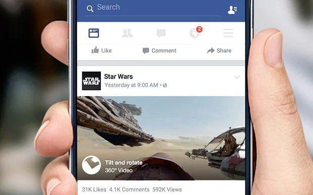 Facebook testa novos Ícones e download de vídeos no Android